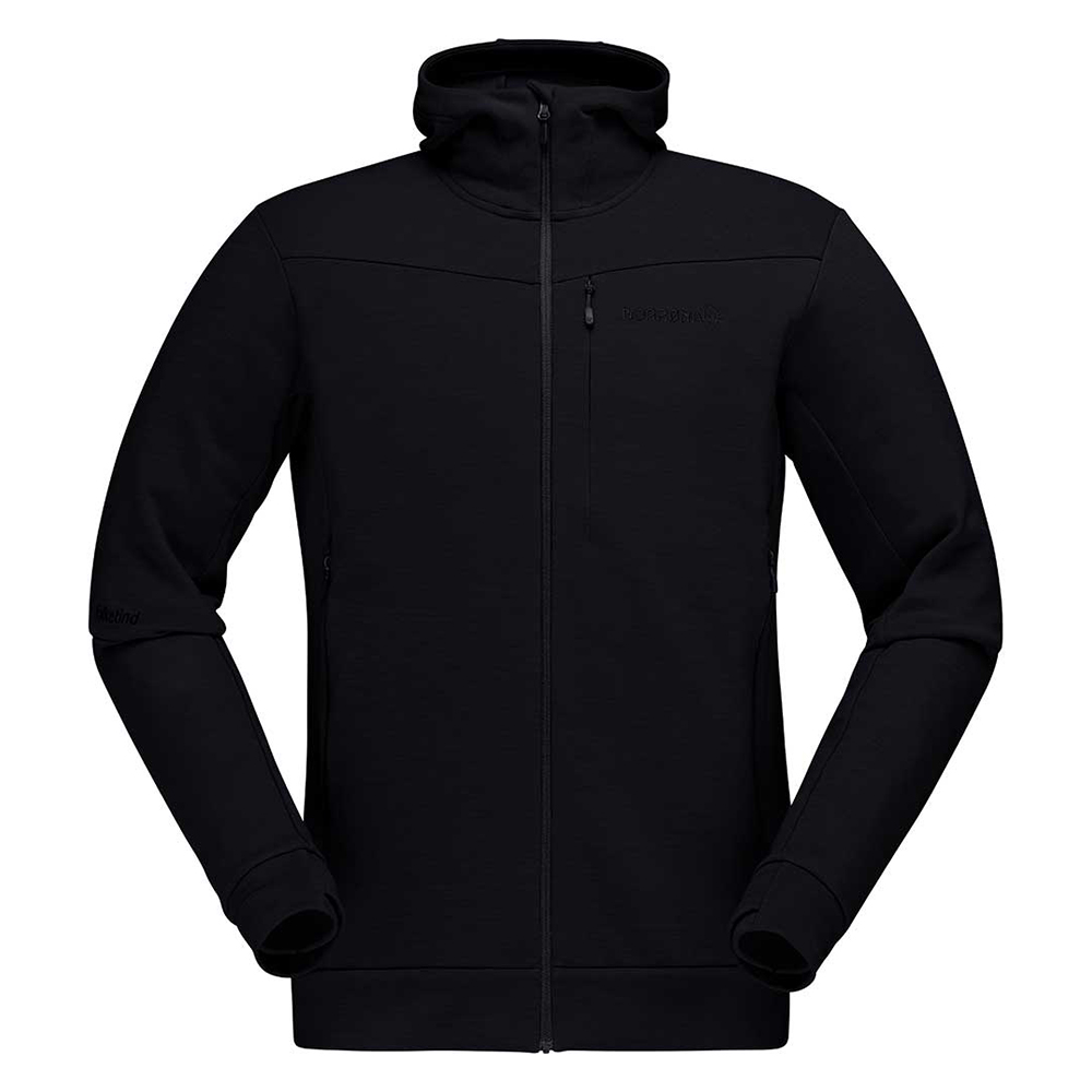 falketind warmwool2 Stretch Zip Hood (M)