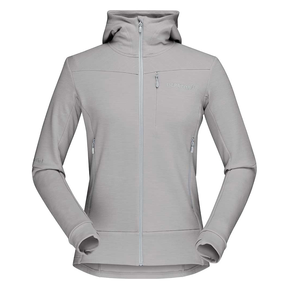 falketind warmwool2 Stretch Zip Hood (W)