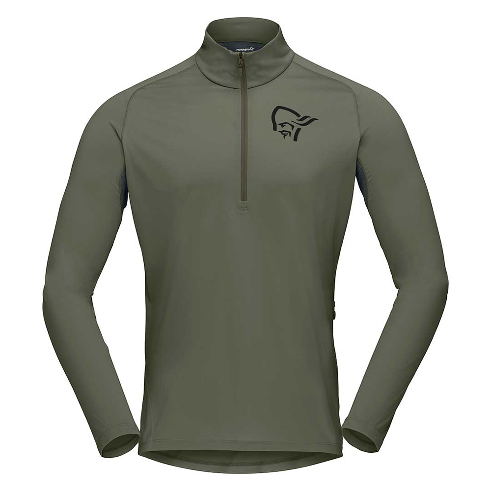 fjora equaliser long sleeve Zip Top (M)