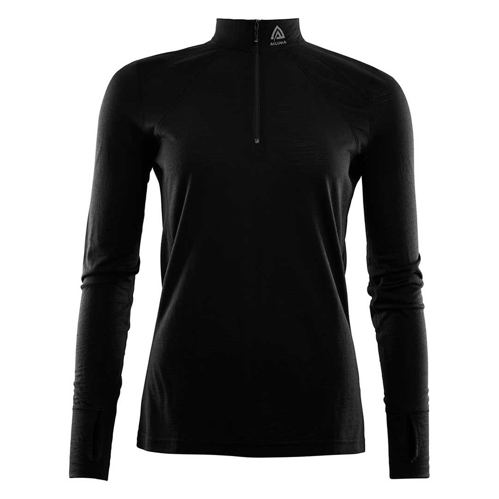 LIGHTWOOL ZIP SHIRT WOMAN