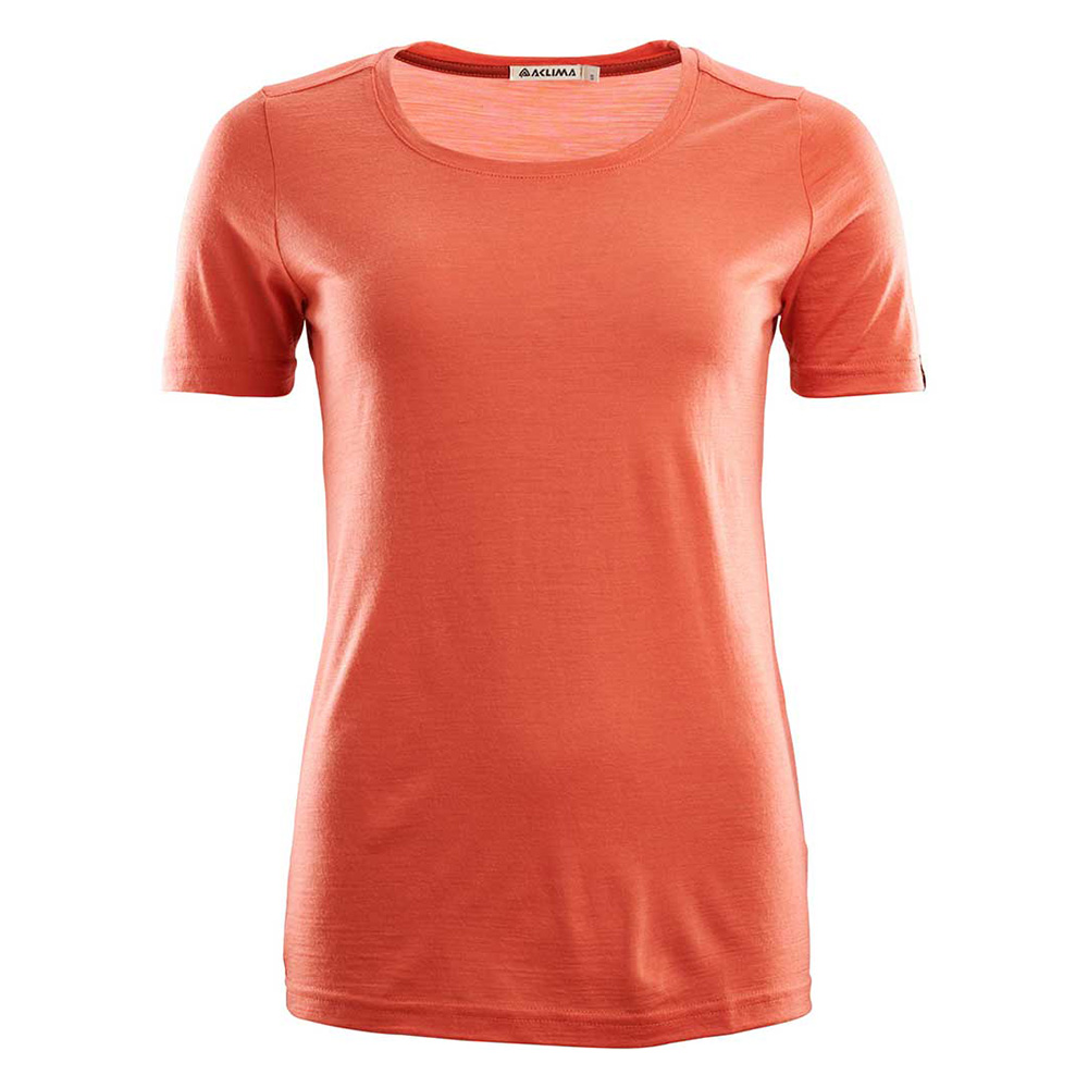 LIGHTWOOL T-SHIRT ROUND NECK WOMAN