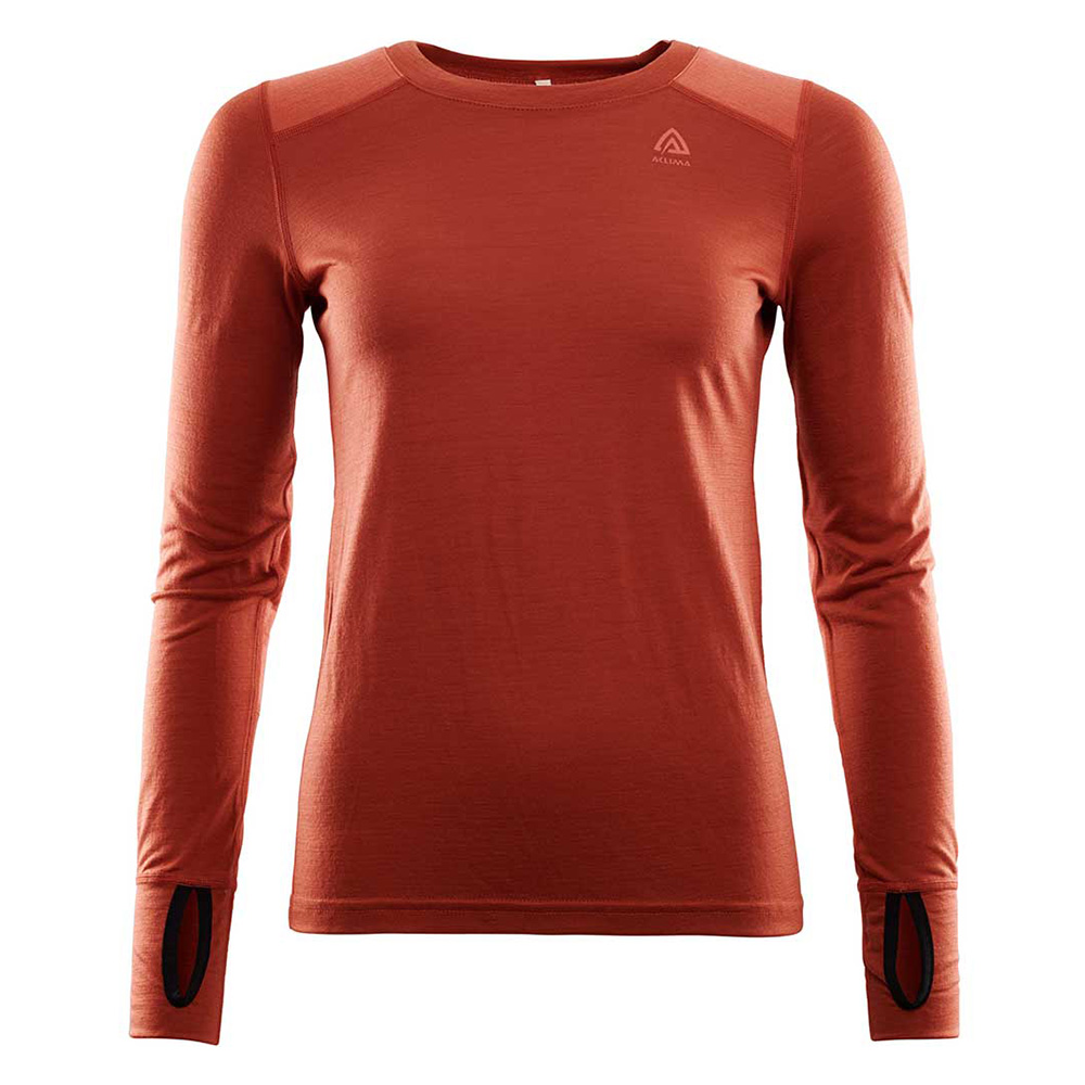 LIGHTWOOL REINFORCED CREW NECK WOMAN