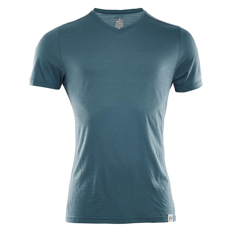 LIGHTWOOL T-SHIRT V-NECK
