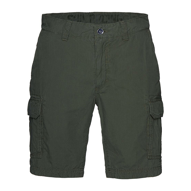 GRINDER CHECK CARGO SHORTS