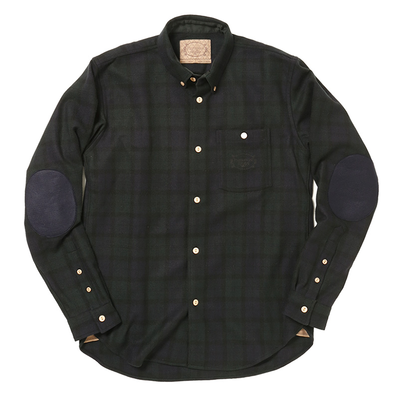 BUTTONDOWN SIDE IN POCKET SHIRT